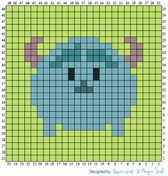 Over in the Two Hearts Crochet CALs group someone has asked about tsum tsum graphs. Being a massive Disney fan and avid tsum collector . Pixel Art Templates, Perler Bead Templates, Perler Patterns, Cute Cross Stitch, Beaded Cross Stitch, Disney Cross Stitch Patterns, Cross Stitch Designs, Hama Beads Disney, Modele Pixel Art
