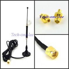 4G lte Antena 10dbi Antena LTE 3g 4g 698-960/1700-2700 Mhz z magnetycznym baza SMA Male RG174 3 M + SMA ŻEŃSKIE do TS9 mężczyzna Adapter