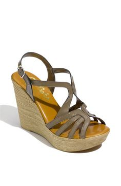 "Callisto 'Tiara' Wedge Sandal, I have these and they are super comfortable! 4.5"" but feels like 3.5"""