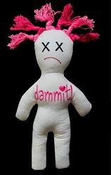 Dammit Doll - 5 Sizes! | What's New | Machine Embroidery Designs | SWAKembroidery.com Nobbie Neez Kids