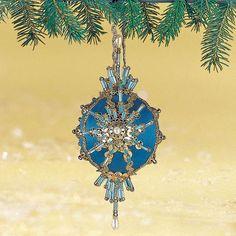 "Herrschner's Inc. Ornament Kit - ""Royal Night"" - Item # 512006 (discontinued)"