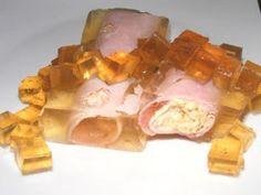 Ricetta Antipasto : 162 - involtini di prosciutto in gelatina da Patesetpattes