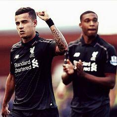 @jhenderson / Coutinho does that every day in training so it was no surprise to me. . . هندرسون / كوتينهو يفعل هذا كل يوم في للتدريبات لذا أنا لست مستغرب منه .  #ليفربول#Liverpool#reds#lfc#ynwa by ynwa_global