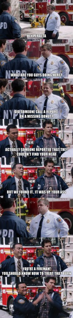 Brooklyn Nine Nine is great!  // funny pictures - funny photos - funny images - funny pics - funny quotes - #lol #humor #funnypictures