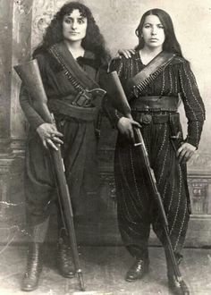 'Amazons of the Caucasus', Western Armenia, 1895