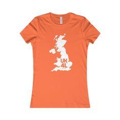 United Kingdom Junior Cut 4L® T-Shirt