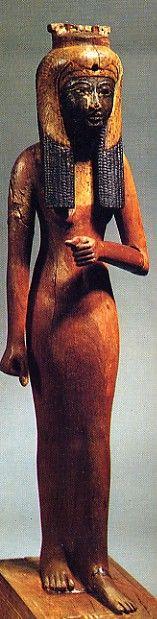 Ahmose Nefertari, wife of Ahmose and mother of Amenhotep