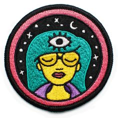 LOL DOLL SEQUIN  EMBROIDERED APPLIQUÉ PATCH SEW OR IRON ON GIRLS CHARACTER #110