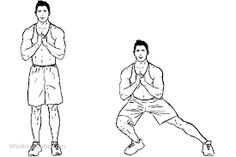 Bodyweight side steps / lateral lunges is a gym work out exercise that targets glutes & hip flexors and hamstrings and quadriceps and also involves abs and calves. Floor Workouts, Fit Board Workouts, Running Workouts, Fun Workouts, Floor Exercises, Side Lunges, Fitness Tips For Men, Mens Fitness, Exercise Workouts