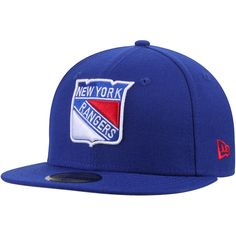 97b8a90fc2b New York Rangers New Era Team Color 59FIFTY Fitted Hat - Royal