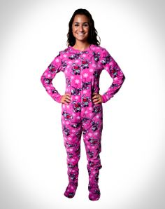 footie pajamas for girls 10 and up   Aqua Owl Footed Pajamas for ...