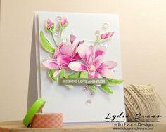Lydia Evans Design: Pretty Pink Posh Watercolor Hop: DSC05245