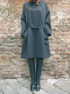 Stylish mood #driesvannoten #aw13 #fw13 #fashion #designer #collection #blouse #shirt #dress #pantskirts #grey #wool #beanie #stripes #womenswear #womenstyle #outfit #lookbook #ootd #stye #fashionoutfit #wishlist #dolcitrame #shop #shopping #boutique