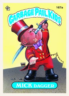 Cartoonist Art Spiegelman on the history of Garbage Pail Kids Pulitzer Prize… Art Spiegelman, Garbage Pail Kids Cards, Kids Board, Kids Stickers, Stuff And Thangs, Cabbage Patch Kids, Funny Kids, Trading Cards, Childhood Memories