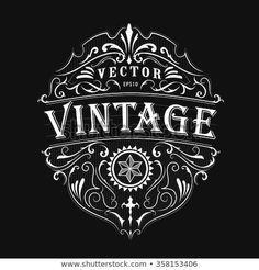 Find Antique Label Typography Vintage Frame Design stock images in HD and millions of other royalty-free stock photos, illustrations and vectors in the Shutterstock collection. Logos Vintage, Vintage Logo Design, Vintage Typography, Vintage Type, Vintage Labels, Typography Design, Vintage Designs, Retro Vintage, Images Vintage
