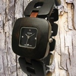 How do you tell time? We do it with wood. Wooden Watch, Apple Watch, Watches, Wooden Clock, Wristwatches, Clock