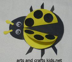 Ladybug Craft   Ladybug   Easy crafts ideas for kids – Craft projects