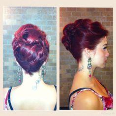 Updo Updos, Hairstyles, Up Dos, Haircuts, Hairdos, Hair Styles, Hair Looks, Hair Cuts, Haircut Styles