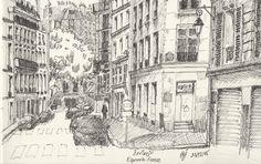 La ĉerizejo, Esperanto-France, Parizo
