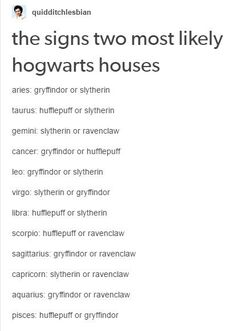 im a lidra and im in slytherin so it got it right. also my libra friend is a hufflepuff. Zodiac Sign Traits, Zodiac Signs Horoscope, Zodiac Memes, Zodiac Star Signs, My Zodiac Sign, Zodiac Quotes, Zodiac Facts, Horoscope Memes, Astrology Zodiac
