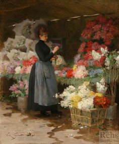 Gilbert, The Flower Market