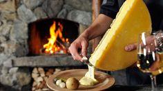 raclette, una de las comidas más tradicionales de suiza