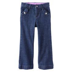 Genuine Kids from OshKosh ™ Infant Toddler Girls' Denim Pant - Medium Blue