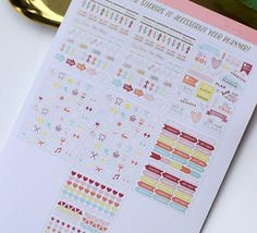The Lazy Gurl Planner Sticker Set, 400 units. – The White Pad