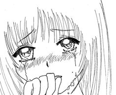 How to Draw Anime Tears | Manga girl's crying by Micha19 on deviantART