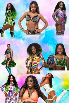Naomi Wwe, Wrestling Outfits, Trinity Fatu, Wwe Wrestlers, Wwe Superstars, Photo Studio, Champs, Glow, Image