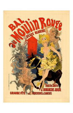 Moulin Rouge Poster.