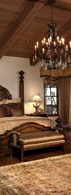1000 images about interior design old world traditional for Tuscan bedroom design
