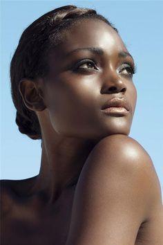 Love Yourself. Dark skinned women are beautiful.