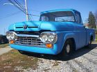 1958 Ford F-100 short bed 1958 Ford F100 pick up short bed.