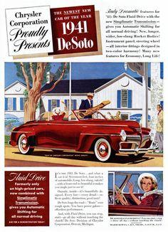 1941 DeSoto Convertible Club Coupe