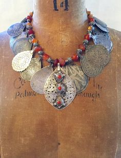 6d9579153f46 Antique Moroccan Berber Amulets+Silver Beads - Victoria Z Rivers+Jewelry  Antique Berber Moroccan Silver+Amulets+Coins+Trade Beads+ Tribal Diamonds™+  Old ...