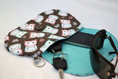 Teal and pink owls clutch purse snap pouch clutch by ValkinThreads, $22.00 all of my clutches and purses are on sale now until 2/14/14 with coupon code sweetheart. See my etsy shop announcements for details. #clutch #purse #owls #fashion #accessories #pink #teal