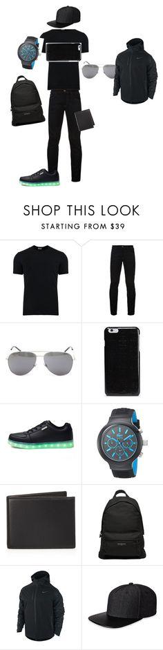 """Amirchik set"" by azharikprincess ❤ liked on Polyvore featuring Dolce&Gabbana, Hilfiger Denim, Yves Saint Laurent, Maison Margiela, Lacoste, The Men's Store, Balenciaga, NIKE, Gents and men's fashion"