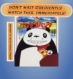 Panda Kopanda (Dub) - watch Online, fully for Free! Streaming dubbed Anime for greater good!