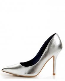 Promise Ivana Silver Metallic Pointed Pumps - $29.00