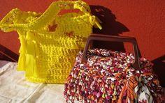Come realizzare una borsa in fettuccia per l'estate [FOTO] - Borsa in fettuccia i love you! Sì, perché d'estate per essere sempre al top servono gli accessori giusti. Ma siamo proprio sicure che nei negozi troveremo quello che stiamo cercando?