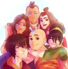 Team Avatar selfie:)