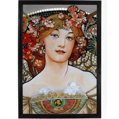 The Girl by Alphonse Mucha