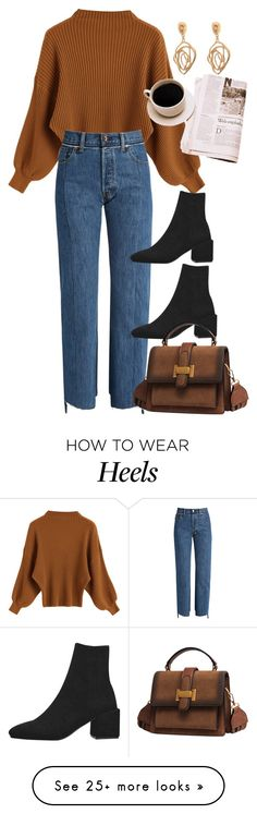"""Coffee day"" by nikka-phillips on Polyvore featuring Vetements"
