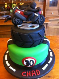 Motorcycle Cake Homemade Delights Brasov Pinterest Cake