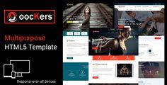 Doockers - HTML5 Business Template - Site Templates