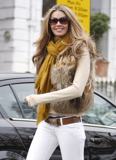 Fur and white