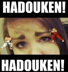 Street Fighter Hadouken