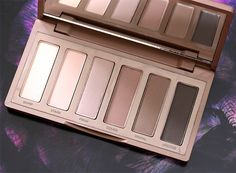 Urban Decay Naked2 Basics Palette Review & Swatches
