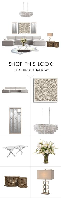 """""""HOME DECOR...."""" by enid23 ❤ liked on Polyvore featuring interior, interiors, interior design, home, home decor, interior decorating, Zuo, Lux-Art Silks and Home Decorators Collection"""